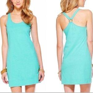 Lilly Pulitzer Shore Dress Sz S cotton/linen
